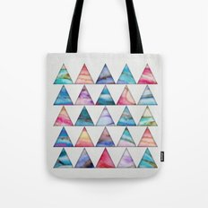 Marble Triangles 2 Tote Bag