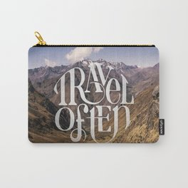Travel to the Mountains Carry-All Pouch