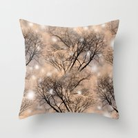 fairies Throw Pillows featuring Fairies  by MinaSparklina