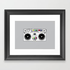 1 kHz #7 Framed Art Print