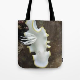 White nudibranch Tote Bag