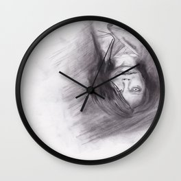 口裂け pls Wall Clock