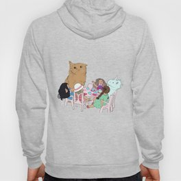 Teatime//because every cat deserves to be spoiled Hoody