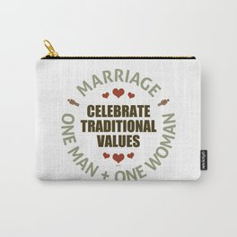Celebrate Traditional Values Carry-All Pouch