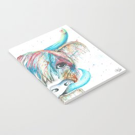 Highland Cattle full of colour Notebook