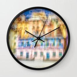 Matchboxes of Riomaggiore Wall Clock