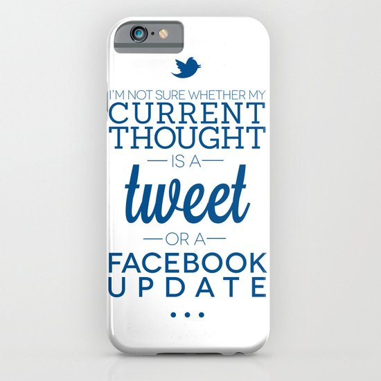 Social Media iPhone & iPod Case