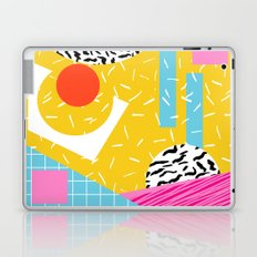 Homefry - abstract pattern memphis retro throwback 80s neon vibes trendy art decor Laptop & iPad Skin