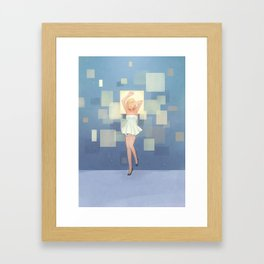 Square Display Framed Art Print