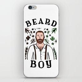 Beard Boy: Michael iPhone Skin