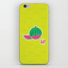 Watermelon - CosmoLOL!icious iPhone Skin