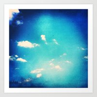 Nothing but Blue Skies All Day Long Art Print