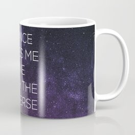 One With the Universe Coffee Mug