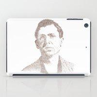 leon iPad Cases featuring Leon Czolgosz by Neil Campau