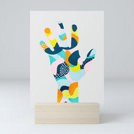 Happy hand Mini Art Print