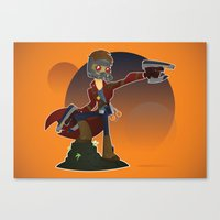 starlord Canvas Prints featuring Starlord by Mike Spiers Art Store