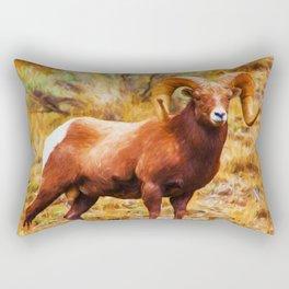 Big Horn Sheep Rectangular Pillow