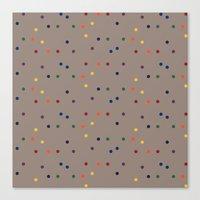 sprinkles Canvas Prints featuring Sprinkles by D.J.D