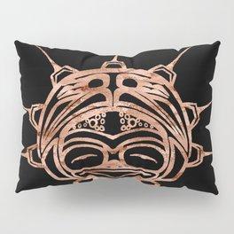 Copper Frog Ink Pillow Sham