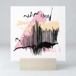 Pink mess Mini Art Print