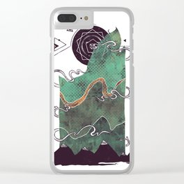 Northern Nightsky Clear iPhone Case