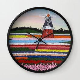 Keukenhof Garden Wall Clock