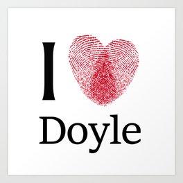 iDoyle Art Print