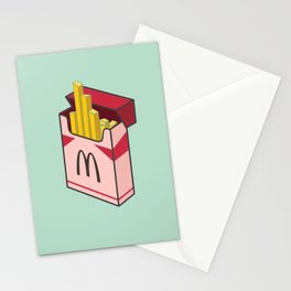 Pocket french fries Stationery Cards