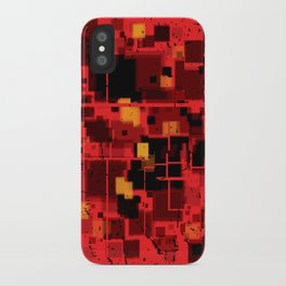 Abstract Composition #4 iPhone Case