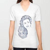 lana V-neck T-shirts featuring Lana by Rabassa