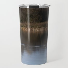 Gone Fishing Travel Mug