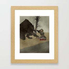 The Beast of Bray Road Framed Art Print