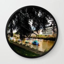 The Shaded Tree in Totnes Wall Clock