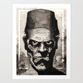 The Mummy(1932) Art Print