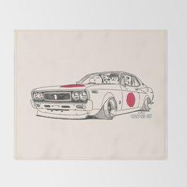 Crazy Car Art 0162 Throw Blanket