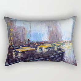 Night New York Rectangular Pillow