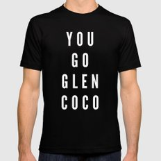 You Go Glen Coco MEDIUM Mens Fitted Tee Black