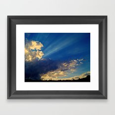 Skylights Framed Art Print