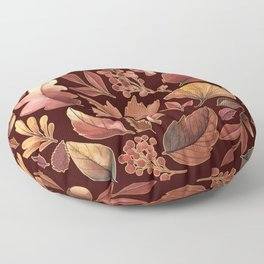 The Winds Of Autumn Have Returned Floor Pillow