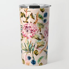 Pattern boho floral Travel Mug