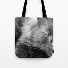 Wise Old Cat Tote Bag