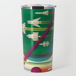 Retro Space Poster - The Grand Tour Travel Mug