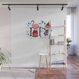 Gnome Garden Wall Mural