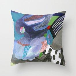 Thunderstorms Throw Pillow
