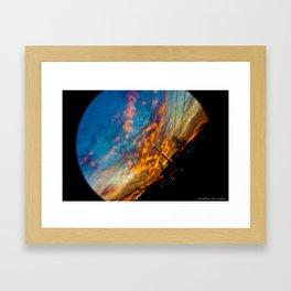 A beautiful drive  Framed Art Print