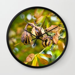 CHESTNUT AUTUMNLIGHT Wall Clock