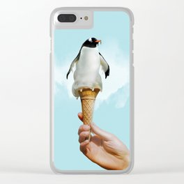 Penguin 2.0 Clear iPhone Case