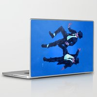 blues brothers Laptop & iPad Skins featuring Blues Brothers by Dave Collinson