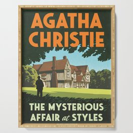 Agatha Christie - The Mysterious Affair at Styles Serving Tray