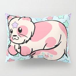 Strawberry Cream Stars Pillow Sham